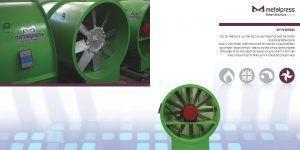 Metalpress Smart Solutions מפוחים ציריים לפינוי עשן