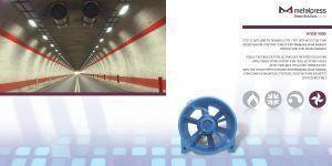 Metalpress Smart Solutions מפוחים לפינוי עשן במנהרות